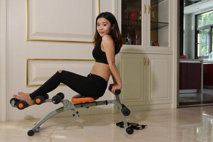 万达康 懒人仰卧板多功能健腹肌板收腹机辅助器仰卧起坐家用健身器材美腰卷腹 晒单图
