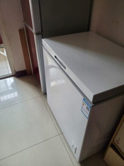美菱(MELING)142升 家用小型冰柜 冷藏冷冻转换冷柜 一级能效 节能单温母乳卧式小冰箱 BC/BD-142DT 晒单图