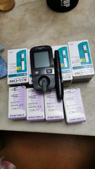 罗氏(ROCHE)血糖仪家用活力型免调码测血糖测糖仪糖尿病测试检测仪(内附100片试纸+100支采血针) 晒单图