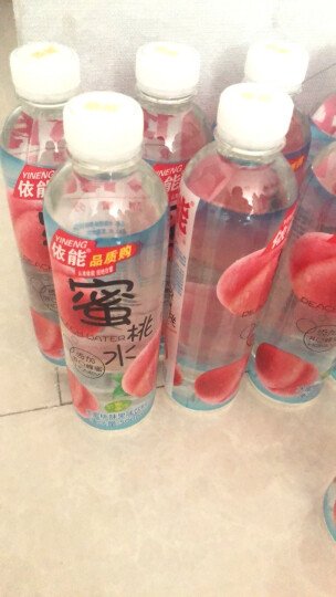 依能 蜜桃水 添加蜂蜜 果味饮料 500ml*15瓶 塑膜量贩装 晒单图