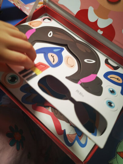 Galaxy park 二代精钢磁力片积木套装230件 百变提拉建构磁力棒 魔磁性铁玩具 儿童3D立体拼装拼插教具 晒单图
