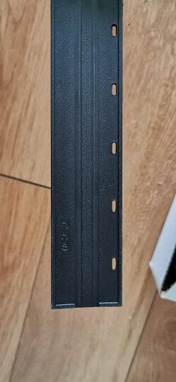 ECHO 爱可装订机10齿优质夹条 适用于梳式胶圈装订夹边条装订机 压条压边条 合同文本标书装订夹条 商务蓝 20mm/50支 晒单图
