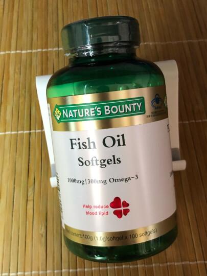 自然之宝(Nature's bounty)螺旋藻茶多酚胶囊 370mg/粒*90粒 晒单图