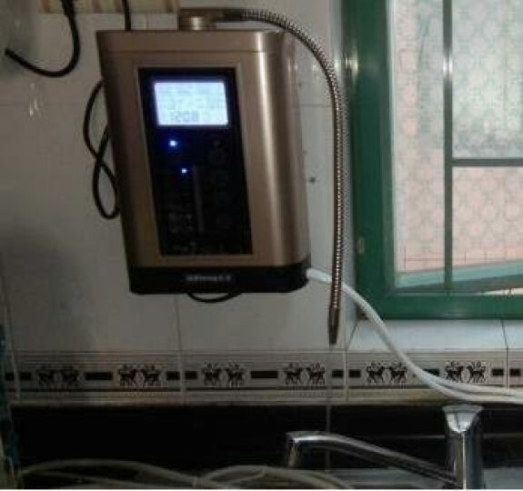 卫宁MZ-5净水器家用直饮机净水机厨房自来水过滤水净化设备 压缩活性炭滤芯 晒单图