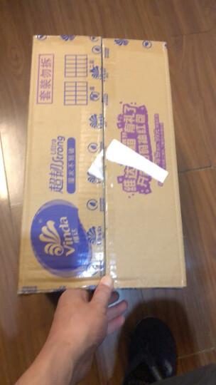 维达(Vinda) 抽纸 棉韧立体美3层108抽*24包软抽 抽取式面巾纸 纸巾(真S码 母婴可用) 整箱销售 晒单图