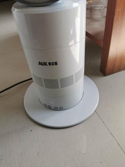 奥克斯(AUX)FS-40-A1613  电风扇/酷黑五扇叶/落地扇/家用大风量风扇(黑红) 晒单图