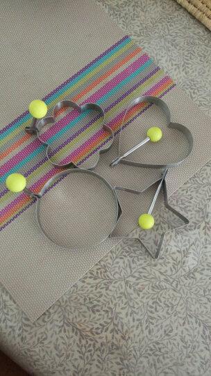 帕帕罗蒂(PAPAROTTY) 不锈钢煎蛋器煎蛋模具 创意煎蛋圈煎鸡蛋模型厨房用品 全套4个 晒单图