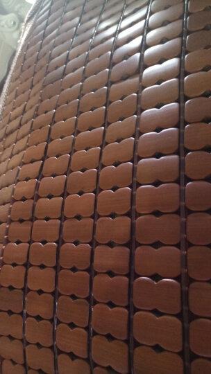 正帆夏季麻将竹席垫凉席碳化麻将床席单双人1.5米1.8m学生竹席子可定制定做 金色窄边(无底布) 1.8*2.2m床 晒单图