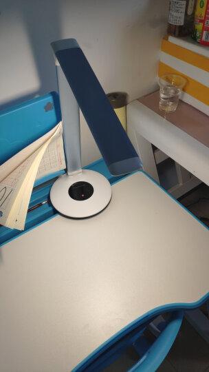 松下(Panasonic)国A级减蓝光护眼台灯六段/连续调光工作阅读儿童学生学习台灯 HHLT0610蓝色 晒单图