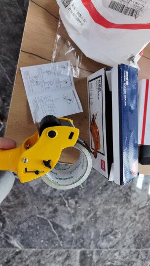 得力(deli)封箱器打包器胶带底座 适用胶带宽度60mm内胶带切割机 办公用品 颜色随机803 晒单图