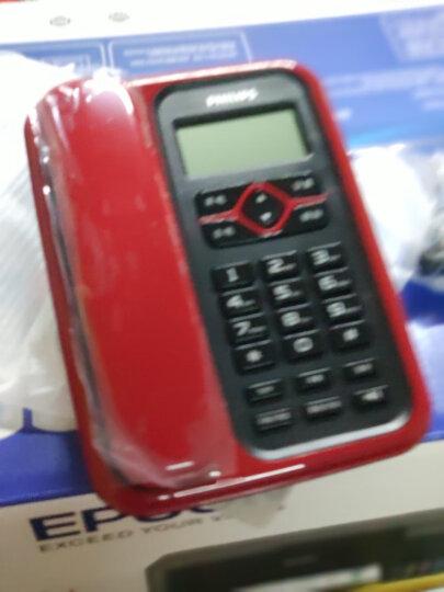 飞利浦(PHILIPS)电话机座机 固定电话 办公家用 免电池 插线即用 CORD020红色 晒单图