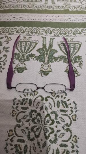 老花镜折叠男女士又一春360度旋转超轻时尚高清迷你简约舒适树脂便携式老光老年人老花眼镜360-1 蓝色大号 300度(建议65-69岁) 晒单图