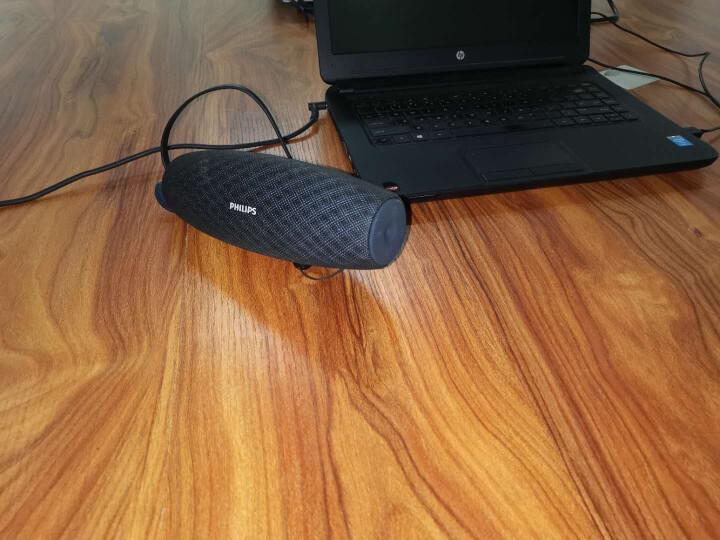 飞利浦(PHILIPS)BT7900 音乐大号角 蓝牙音箱 桌面音响 户外防水播放器 HIFI大功率低音炮 免提通话 黑色 晒单图