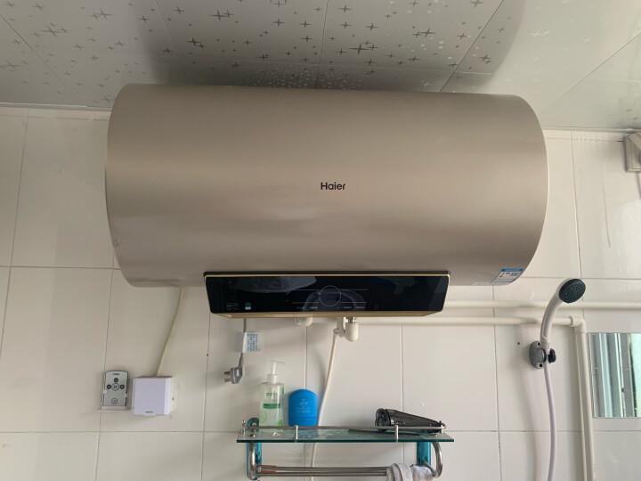 海尔(Haier)60升电热水器双3000W智能速热手机APP无线遥控预约80度高温抑菌EC6003-JT3(U1)京品家电 晒单图