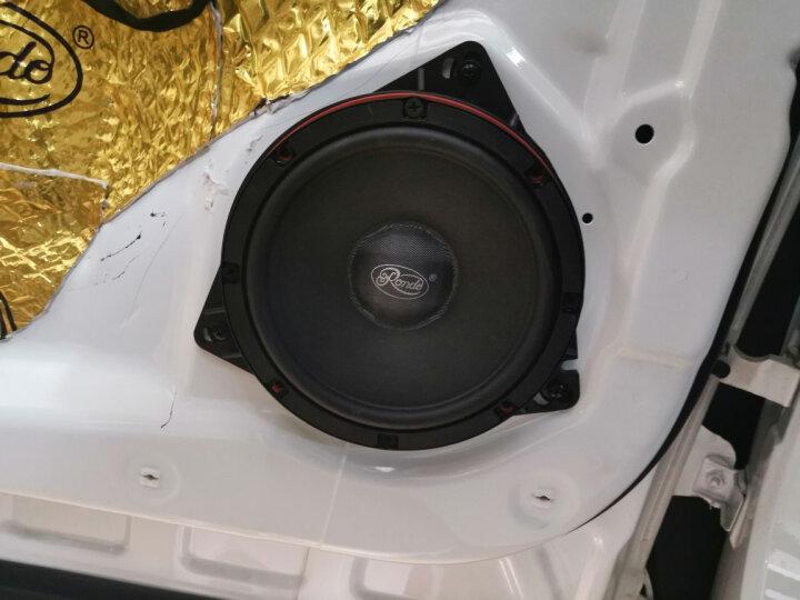RONDO汽车音响无损改装6.5寸套装同轴车载扬声器两分频主机直推喇叭高音头低音炮DSP功放 【6喇叭低音套餐】四门SL系列+8寸低音 晒单图