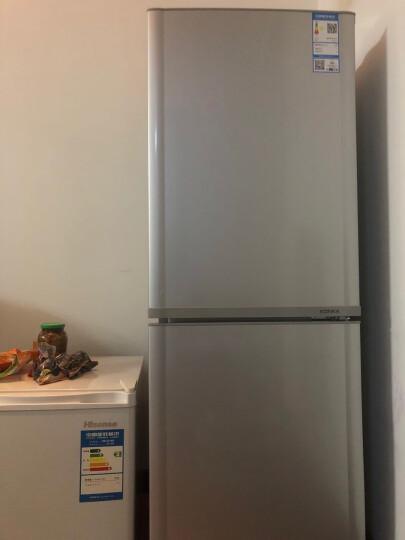 康佳(KONKA)170升 双门小型电冰箱 金属面板 低噪 家用两门  寝室用电冰箱 (银色)BCD-170TA 晒单图