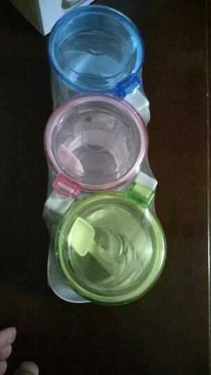 金熊 300ML玻璃调料盒套装调味罐调味盒调料罐3组装带置物架JC300 晒单图
