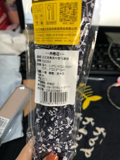 欧润哲 筷勺套装 日式便携木制筷子勺子餐具套装 晒单图