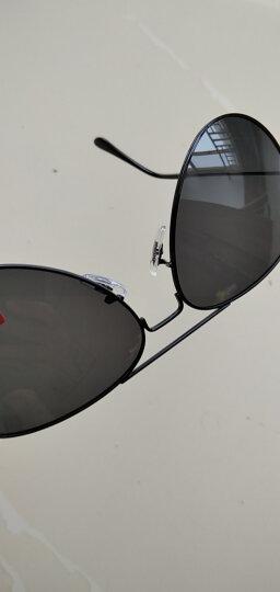 雷德蒙日夜两用变色偏光太阳镜男司机夜间驾驶眼镜女夜视镜开车专用眼睛防远光灯飞行员墨镜蛤蟆镜 黑色框 黑灰偏光片(送夜视镜)(再送墨镜) 晒单图