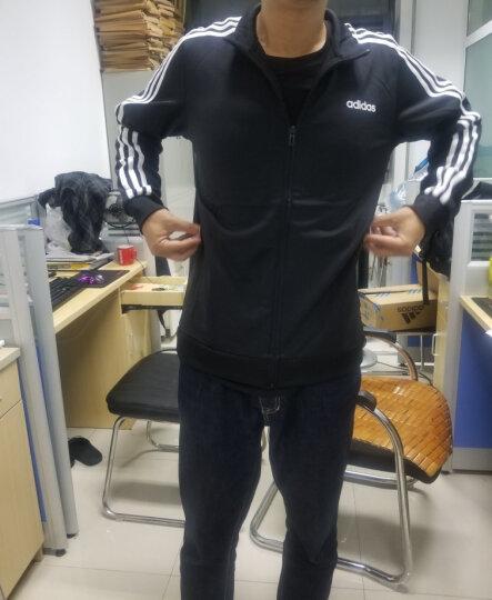 Adidas阿迪达斯外套男春秋季2020年新款官网旗舰立领男士运动夹克 GD5241/三条纹立领/黄色 M(175/96A) 晒单图