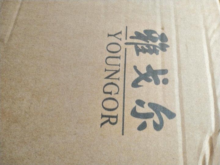雅戈尔 西服男 秋季男士西服 西便服 商务休闲 藏青条纹 180/104A 晒单图