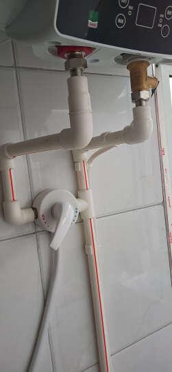 海尔(Haier)60升家用储水式电热水器双管速热大功率遥控预约一级能效专利2.0安全防电墙EC6001-GC 晒单图
