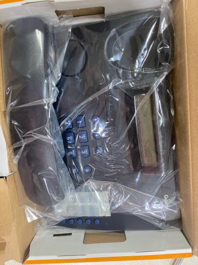 集怡嘉(Gigaset)原西门子品牌 电话机座机 固定电话 办公家用 高清免提 通话静音 2025C黑色 晒单图
