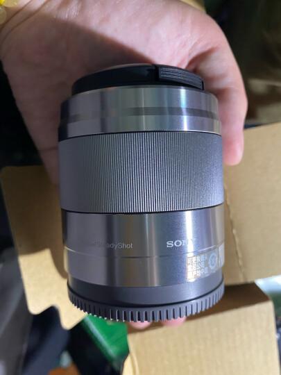 索尼(SONY)E 50mm F1.8 OSS  APS-C画幅定焦镜头(SEL50F18)银色 晒单图