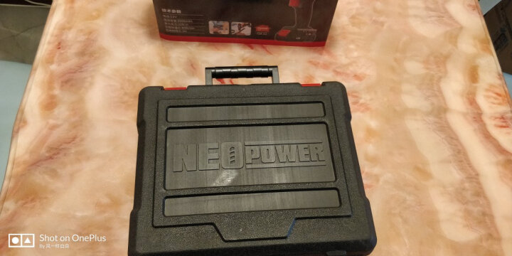 尼奥动力(neopower)电钻充电式手电转钻电动螺丝刀手枪转手钻套装小手钻双锂电池ML-CD92D 晒单图