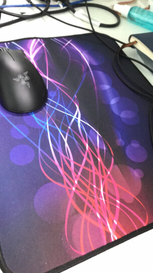 镭拓(Rantopad) H3+锁边鼠标垫 大号 电脑办公 游戏防滑桌垫 飞丝 京东自营 晒单图