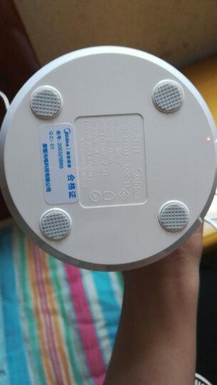 美的 (Midea)led小台灯儿童学生学习阅读灯宿舍寝室卧室床头书桌便携折叠可usb充电台灯银白 晒单图