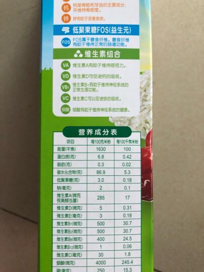 亨氏 (Heinz)  婴幼儿辅食  乳清蛋白 宝宝米粉米糊 400g (辅食添加初期-36个月适用) 晒单图