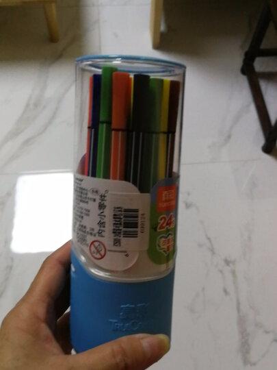 真彩(TrueColor) CWP-2600-24  酷吖可洗水彩笔 24色 小盒装 晒单图