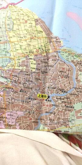 2020全新正版上海市地图 上海市全图 约1.1米 清晰分省行政交通物流水系地形等信息翔实  晒单图