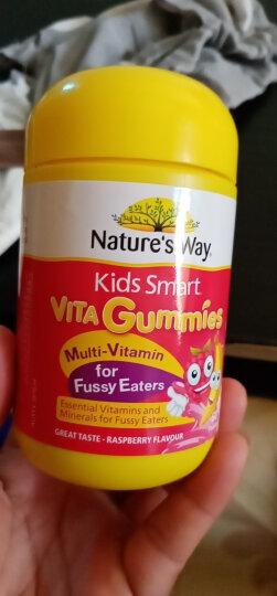 佳思敏(Nature's Way)澳洲kids smart 佳思敏儿童复合维生素软糖三色鱼油益生菌 complete复合维生素+鱼油50粒 晒单图