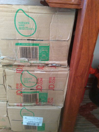 屈臣氏(Watsons)饮用水(蒸馏制法)400ml*24瓶 整箱装 晒单图