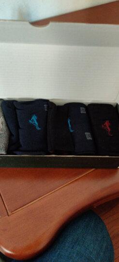 七匹狼袜子男士纯棉透气男袜休闲商务中筒袜子 6双简约礼盒装 晒单图