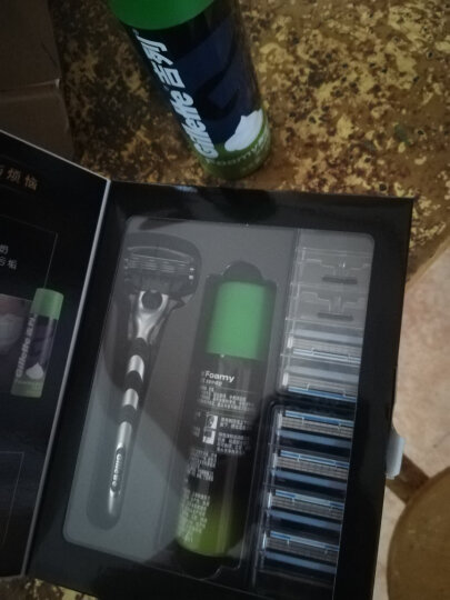 吉列(Gillette) 剃须刀刮胡刀手动 吉利优惠装 锋速3经典(1刀架1刀头+70g剃须啫喱) 晒单图