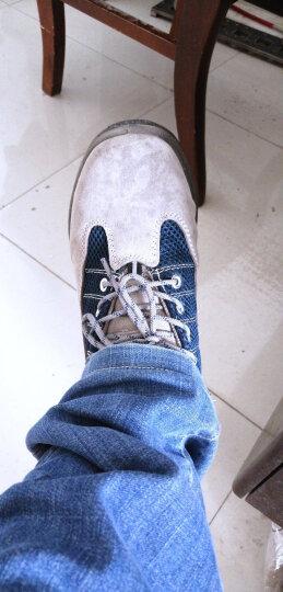 代尔塔劳保鞋功能鞋男 耐磨透气钢包头四季款防静电防砸防穿刺工作安全鞋 301322 蓝灰色SRC级防滑鞋 44 晒单图