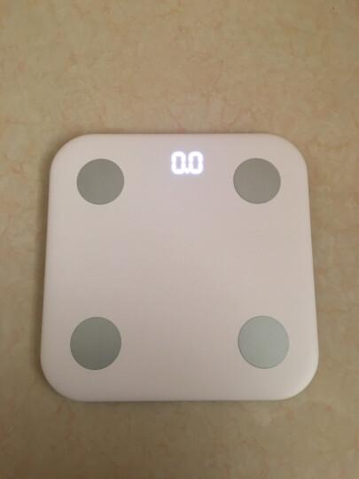 小米体脂秤 白色 体重秤 智能体脂秤 电子秤 人体秤 家用体重秤 精准 APP数据测量 晒单图