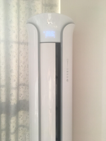 奥克斯空调立式2匹/3匹p新二级变频客厅卧室圆柱立式空调柜机家用冷暖节能静音 独立除湿省电 旗舰店 大3匹变频冷暖 晒单图