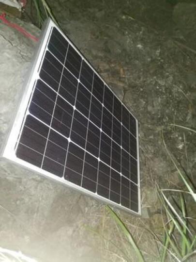 星火20瓦单晶太阳能电池板充12V电瓶20w太阳能板发电板光伏户外专用 晒单图