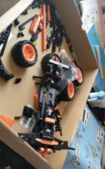 【邦宝官方旗舰店】小颗粒4岁以上 拼插塑料积木儿童玩具男孩女孩礼物 深海营救7402(496颗粒 4公仔) 晒单图