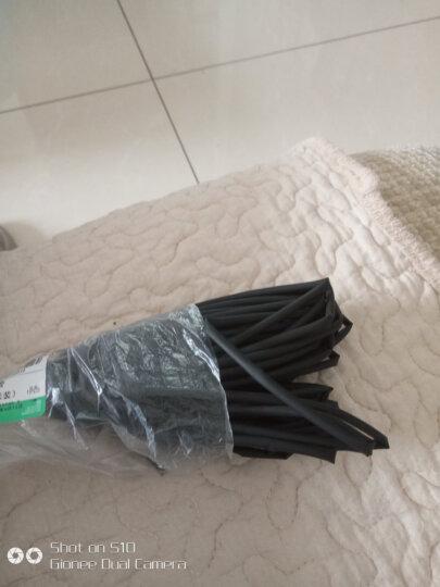 伊莱科(ELECALL)热缩管Φ1~40mm黑白色绝缘套管数据电线电缆维修保护热收缩管 白色 φ10mm【5米】 晒单图