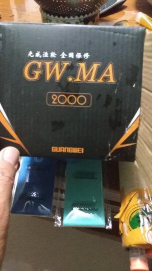 光威GW.MA 6轴纺车轮全金属头渔轮海竿轮远投鱼轮矶钓路亚轮鱼线轮海杆轮鱼轮 MA2000型号 晒单图