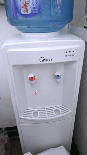 美的(Midea)饮水机 立式家用办公温热型多重防干烧大储物柜饮水器MYR718S-X【三年质保】 晒单图
