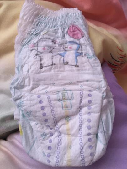 帮宝适绿帮拉拉裤L120片(9-14kg)大码婴儿纸尿裤尿不湿超薄干爽 晒单图