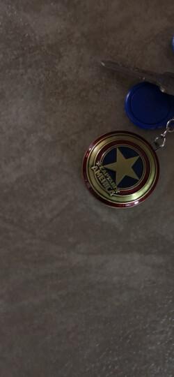迪加伦 汽车钥匙扣 金属创意 挂件装饰品 bv编织 卡通 车用钥匙链男 汽车用品 情人节礼品生日礼物 雷神之锤(古铜色) 黑钥匙链 MAN威家族 晒单图