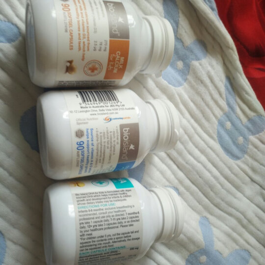 澳大利亚 佰澳朗德Bio Island 比奥岛 适用于婴幼儿补钙牛乳提取液体乳钙 90粒/瓶 1个月以上 晒单图