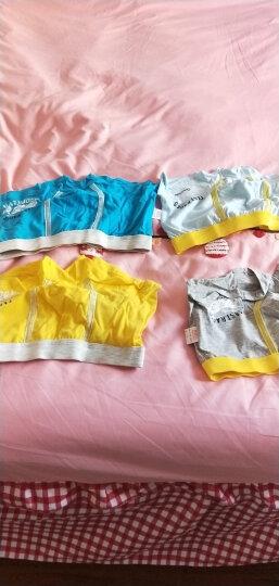 南极人 Nanjiren 儿童内裤 男女童三角平角4条装棉质中大童宝宝内裤男童条纹款160 晒单图